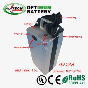 Buy cheap 20ah 48v Lifepo4電池のパックのRechargable最適電池装置 product