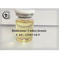 Buy cheap CAS 13103-34-9 Boldenone Undecylenate Injectable Anabolic Steroids 300mg/ml Equipoise product