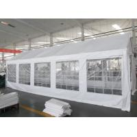 Buy cheap White 180gsm PE Tarpaulin Ourdoor Party Tents With Windows For Weeding product