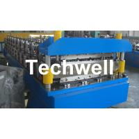 Quality Double Layer Roof Wall Panel Cold Roll Forming Machine for Two Different Roof for sale