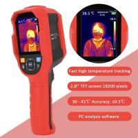 Buy cheap UTi165K Infrared Thermal Imager Human Thermometer Resolution 0.1C With Backlight Yellow Green  Red product