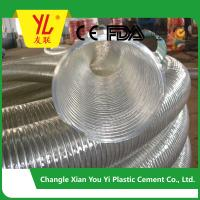 Buy cheap hot selling steel wire flexible pvc duct hose product