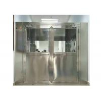 Buy cheap High Efficiency Stainless Steel Air Shower Equipment For Pharmaceutical Industry product