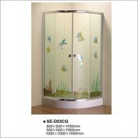 Buy cheap Sliding Glass Door Shower Enclosure For Home / Hotel / Office / Vila Using product