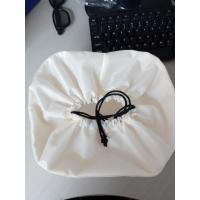 Buy cheap Large Custom White Drawstring Bag , Nylon Drawstring Bags 20*8 Cm product