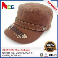 Buy cheap Custom Embroidered Military Caps , Military Boonie Cap Autumn Winter Fitted product