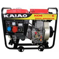 Buy cheap CE Small Diesel Generators 3phase 6.5kw Diesel Generator Set 8600E3 for home product