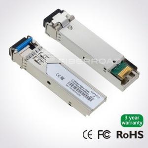 Buy cheap 1.25Gb/s 20Km LC BiDi SFP Transceiver Single LC 1490nm Tx / 1310nm Rx Single Mode , DDM product