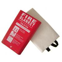 Buy cheap Emergency Glassfiber  Fire Blanket Fire fighting blanket EN-1869 High quality High resistant  temperature product