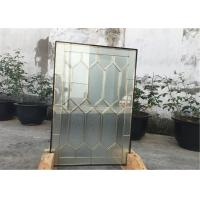 Buy cheap 22*48 Solid Architectural Decorative Panel Glass , Solid Flat Tempered Glass Panels product