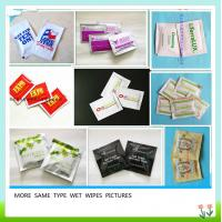 China China factory single packed wet wipes on sale