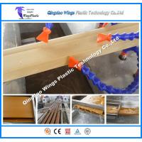 Buy cheap High Speed Automatic WPC Profile Production Line Making Machine for Floor Decking Pallet product