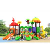 Buy cheap Outdoor Childrens Plastic Playground Winter Protect Plastic Swing And Slide Set product