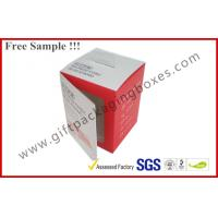 China Customized Card Paper Electronics Packaging , 350gsm Display Box With Hanger And Window wholesale