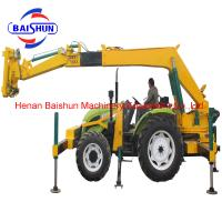 Buy cheap China manufacturer of pole planters pole erection machines price for sale product