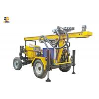 Buy cheap Hydraulic 4 Wheels Dth Drilling Rig 110m Small Portable Type For Water Well from wholesalers