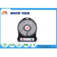 Buy cheap Portable 5W mini usb fan LED Portable Rechargeable usb desktop fan Handheld product