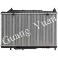 Quality Auto Spare Parts Brazed Ford Fiesta Radiator With Aluminum Core ST L4 1.6L MT 13430 for sale
