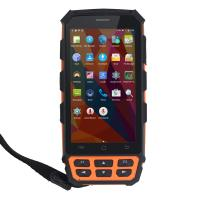Buy cheap Large Screen Handheld RFID Readers , 1D / 2D Barcode Scanner Android PDA With WiFi product