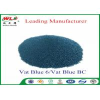 Buy cheap Professional C I Vat Blue 6 Blue BC Blue Vat Dye 100% Purity ISO Approve product