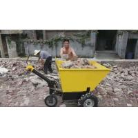 Buy cheap Portable Electric Wheelbarrow With Battery Mobile Machinery Barrow Trolley 600kg Load Capacity product