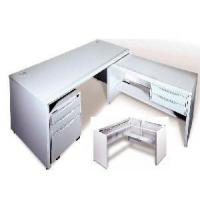 Buy cheap Office Main Desks With Side Desk and Pedestal product