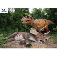 Buy cheap Playground Giant Realistic Dinosaur Skeleton Sculpture For Amusement  Park Exhibition from wholesalers