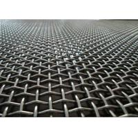 Buy cheap Factory Flat Top Crimped Woven Wire Mesh Multi Color With Beautiful Structure product