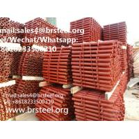 Quality Scaffolding tube ST37 construction scaffolding ERW welded steel tubes for sale