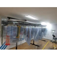 Buy cheap Customized workshop SS Logistics Garment Hanging System product
