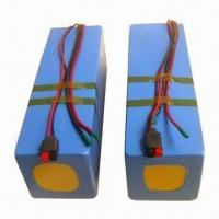 Buy cheap E-bike Battery with 10Ah Capacity, 24V Voltage and 15 to 30A Operating Current product