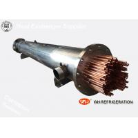Buy cheap Titanium Twisted Tube Heat Exchanger , Marine Refrigeration Condensing Unit product