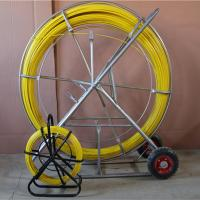 China high quality cable frp Duct rodder,fiber glass conduiting electric cable rodders on sale
