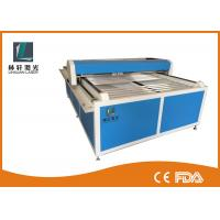 Buy cheap Flat Bed Glass Tube CO2 Laser Engraving Cutting Machine For Wooden Arts / Crafts product