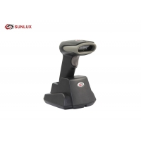 Buy cheap Single Line Scan Wireless QR Code Scanner , Wireless USB Barcode Scanner With Cradle product