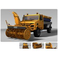 Buy cheap Snow sweeper vehicle product