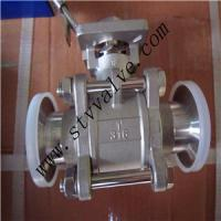 Buy cheap Full Bore Threaded End 1000wog 3PC Ball Valve with Mounting Pad product
