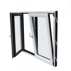 Buy cheap Double Glass Aluminium Tilt And Turn Windows , Inswing Casement Window product