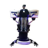China 360 Degree Rotation Stand Up Flight VR Simulator with Up and Down Moving on sale