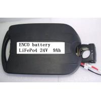 Buy cheap Electric Bike Battery 24V 9Ah LiFePO4 with Frog Case product