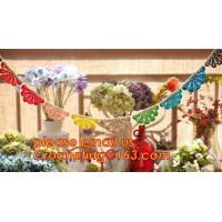 China WEDDING BANNER, PARTY, BIRTHDAY, DECORATION, PERSONALIZED, BURLAP, BUNTING, LACE, TRIANGLE, FLAGS, BANNERS wholesale