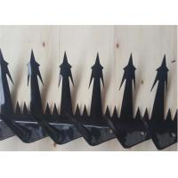 China Steel Wall Security Spikes Anti - Climb , Razor Spikes For Top Of Fence on sale