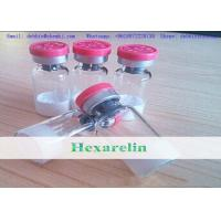 Buy cheap Human Growth Hormone Hexarelin Freeze-dried Powder 2mg/vial Bodybuilding Injectable Peptides product