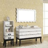 Buy cheap White Antique Bathroom Furniture (AA007) product