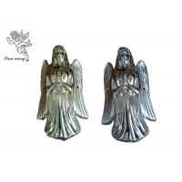Quality Gold Silver Copper Angel Coffin Fittings , Angel 002# Coffin Corner PP Plastic for sale