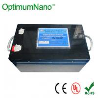 Buy cheap Low-Discharge Lithium-Iron Phosphate  Battery For Led 12.8v 150ah product