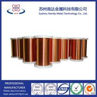 Buy cheap Copper Clad Aluminum Enameled Wire for Magnet wire, ECCA Wire from wholesalers