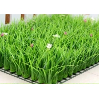 China Anti UV Curly PP 16800 Turfs / Sqm Garden Landscape Synthetic Grass on sale