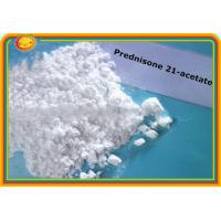 Buy cheap Prednisone 21-acetate 125-10-0 Prohormones Steroids Assay 99% anti - allergy effects product
