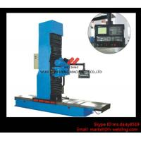 Buy cheap Carbon Steel Vertical End Face Milling Machine with Siemens Electric / Mechanical Feeding product